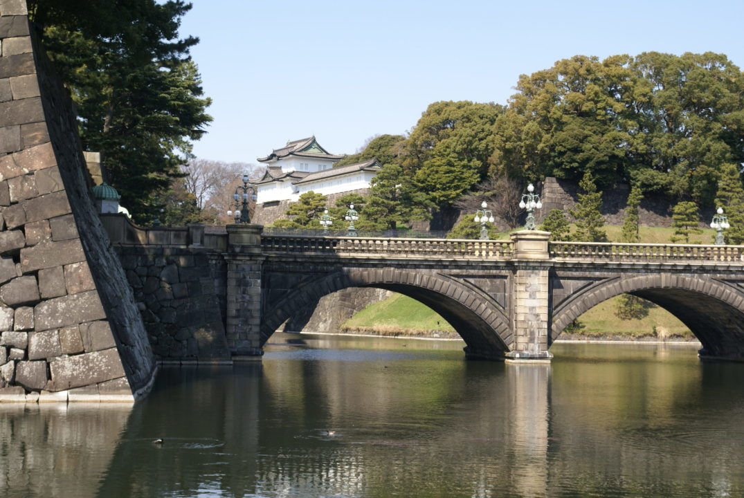 Front gate of The Imperial Palace