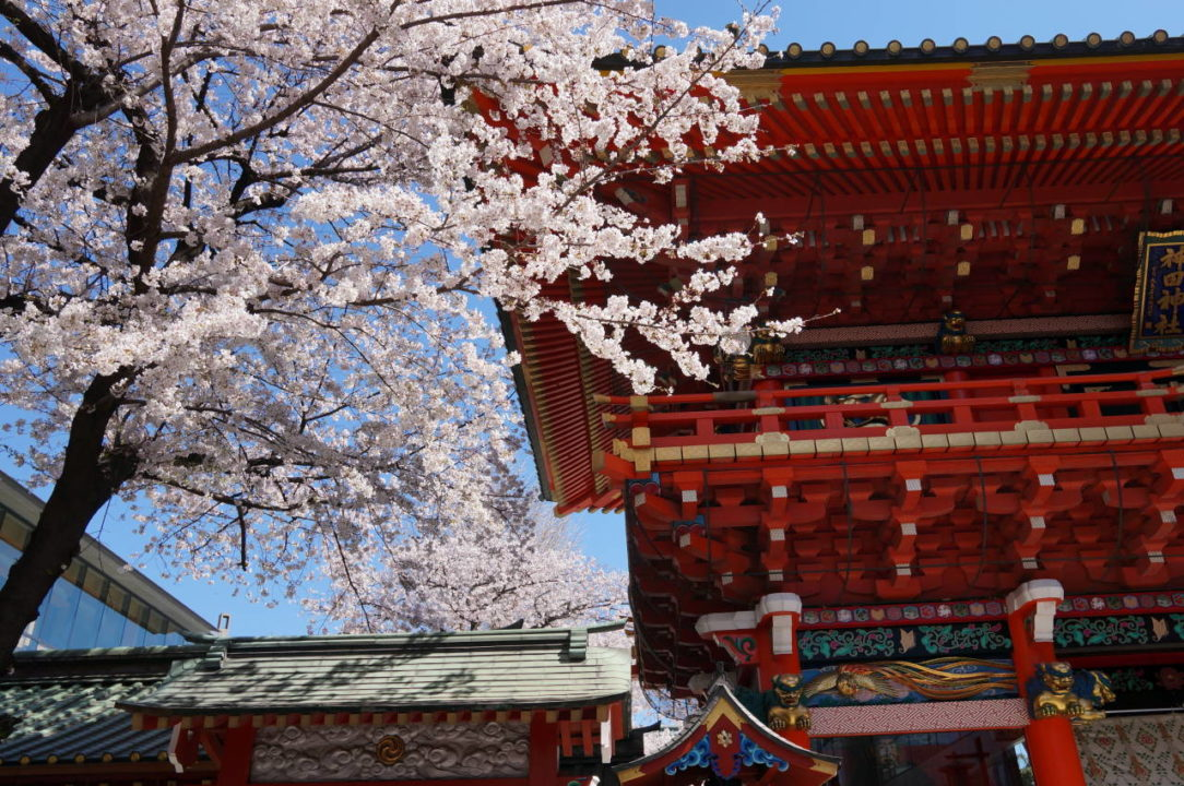 Kanda Myojin Shrine is the guadian shrine of Tokyo
