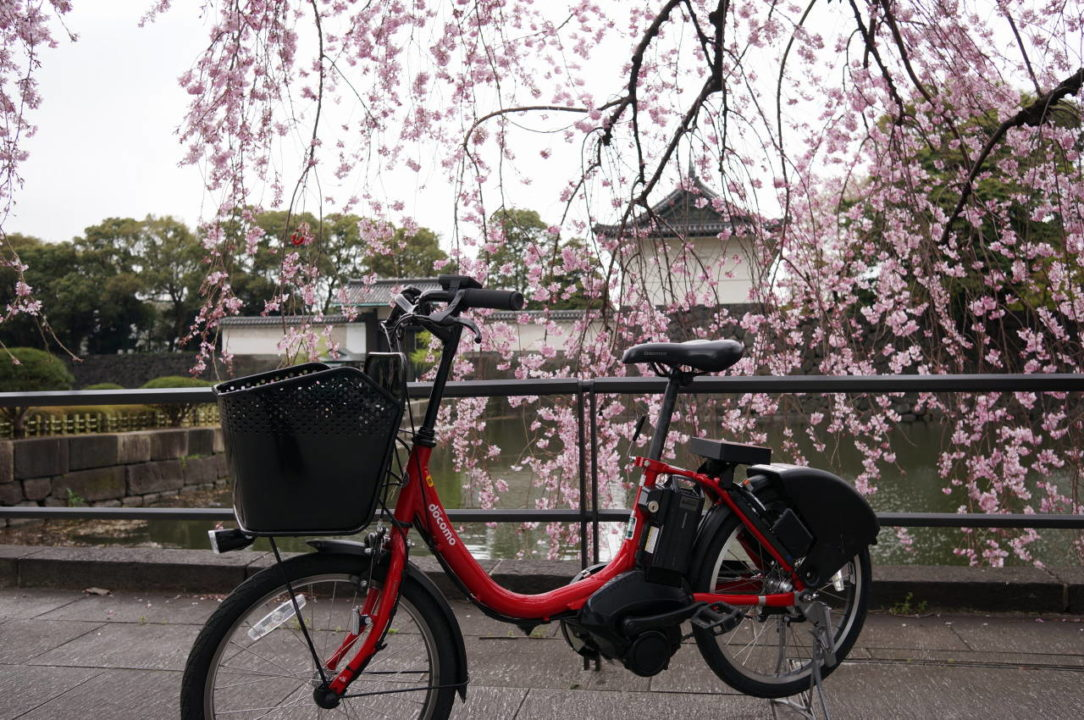 The Imperial Palace and Bicycle